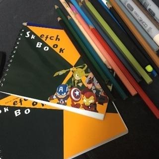 色鉛筆 スケッチブック