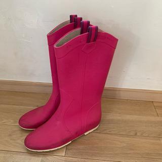 ★ファビオルスコーニ レインブーツ 長靴 ピンク