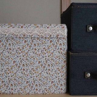 布製折り畳み式収納ボックス 3点セット