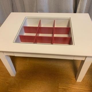 白テーブル ミニ