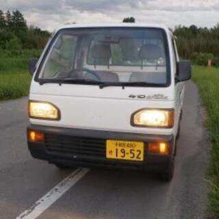 軽トラ 車検R3年5月14日まで乗って帰れます!
