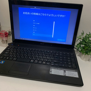 大容量メモリ4GB ❤️Acer Aspire 5742-F52...