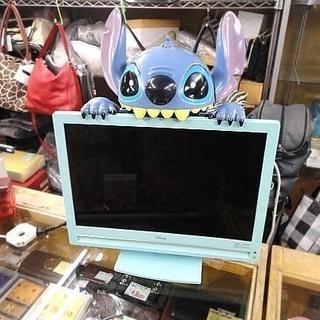 ラナ スティッチ テレビ 20V型 地上デジタルハイビジョン 液...