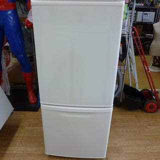 パナソニック 2ドア冷蔵庫 138L NR-B144W-W…