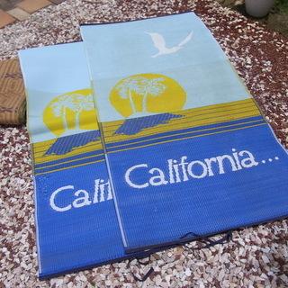 無料 海水浴 ビーチ レジャーシート キャンプ!1畳x2枚