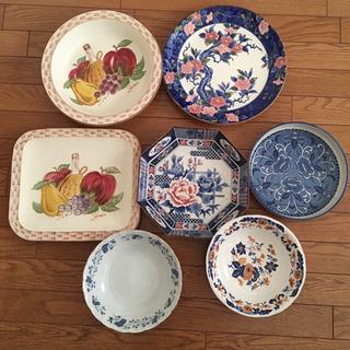 大皿一式 陶磁器