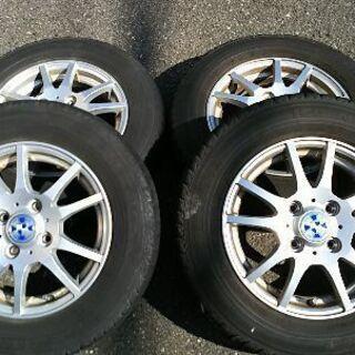 スタッドレスタイヤアルミホイール145/80R13 4本セット