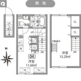 久我山 メゾネット+ロフト 3層の特別住戸