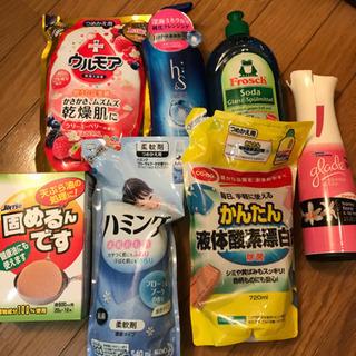 洗剤 シャンプー 柔軟剤 入浴剤 消臭スプレー等 7点セット