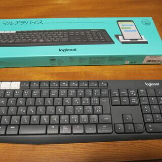 LOGICOOL Bluetooth ワイヤレス キーボード K...
