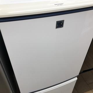 【安心6ヶ月保証】2011年製/SHARP/2ドア冷蔵庫/13...