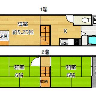 御幣島3丁目 賃料5.5万 42.42平米 ペットOK 物置あり