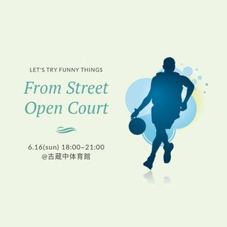 15日、16日 オープンコート #バスケ