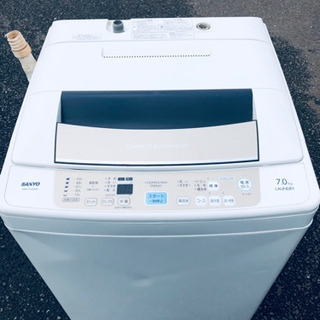 402番 SANYO✨全自動電気洗濯機😘ASW-P70D‼️