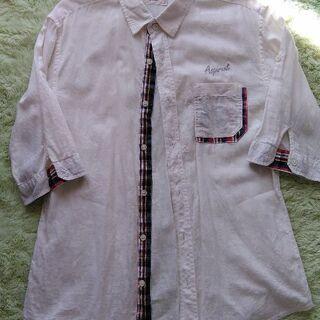 Lサイズ*麻シャツ