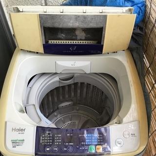 ハイアール 洗濯機 JW-K50F