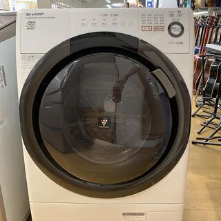 【安心の6ヶ月保証】SHARPのドラム式洗濯機あります!
