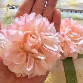 ☆新品☆造花2種 ピンクと黄色