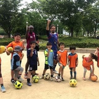 イギリス人コーチと英語サッカー in 大阪