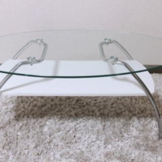 ニトリ ガラステーブル