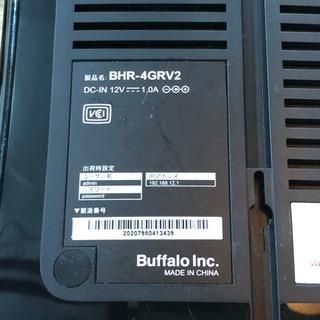 バッファロー プロードバンドルーター BHR-4GRV2
