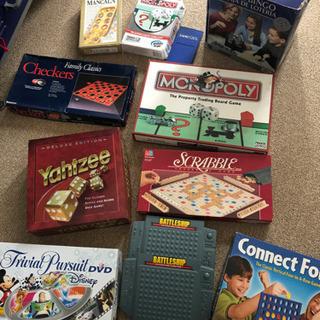 アメリカで購入のボードゲーム