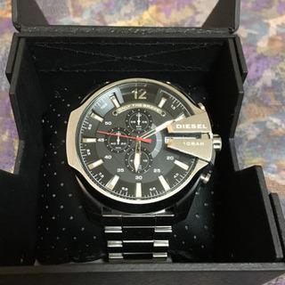 ディーゼル 腕時計 保証付 使用3回 DIESEL