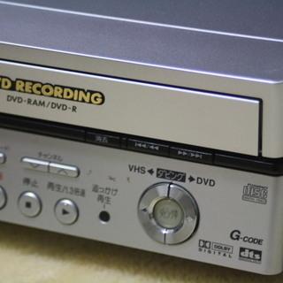 美品 パナソニック DVDビデオレコーダー