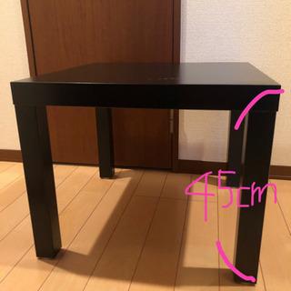 正方形のローテーブル
