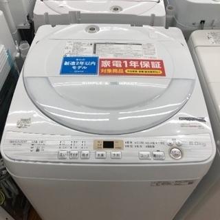 2019年モデルの高年式洗濯機!綺麗です!6.0キロタイプ