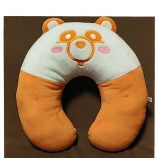 ◆商談中◆AAA えーパンダ🐼 ネックピロー(オレンジ)