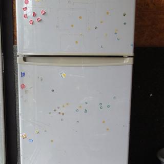 冷凍 冷蔵庫 2ドア ナショナル 126L NR-B13T2 7月...