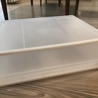 【無印良品】ポリプロピレン収納ケース 引き出し式横ワイド