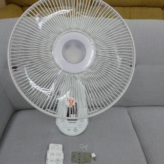 TOSHIBA 壁掛け 扇風機 30㎝ F-AWS80 リモコン...