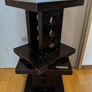 【無料】ヤマハ 木製スピーカー台(スピーカースタンド)