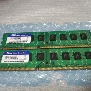 デスクトップ用メモリ DDR3 16GB(8GBx2) 中古 動...