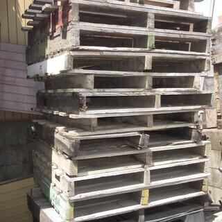 木製 中古パレット 約20枚