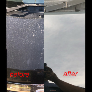 車  磨きます。(出張施工❗️)