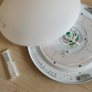 コイズミ LEDシーリングライト6畳用電球色 ほぼ新品