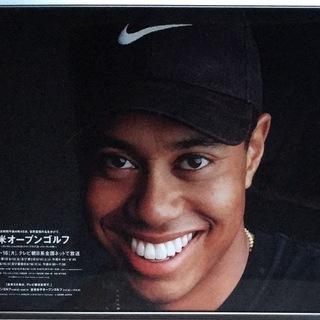 【非売品】1997年 全米オープンゴルフ 番宣ポスター タイガー...