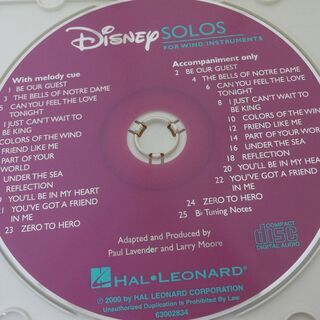 ■CD Disney SOLOS FOR WIND INSTRU...