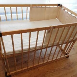ファルスカ ベビーベッド ベッドサイドベッド