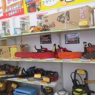 エンジンチェーンソー・電動チェーンソー販売買取おこなっております。