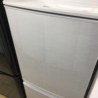 安心6ヶ月保証】2014年製/SHARP/137L/2ドア冷蔵...