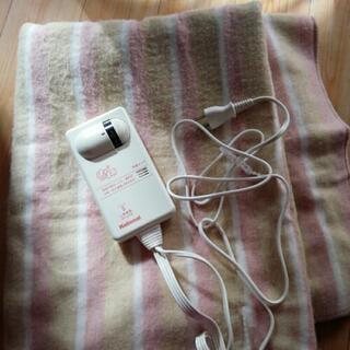 洗える電気敷毛布