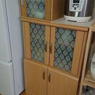 小さい棚&食器棚 あげます