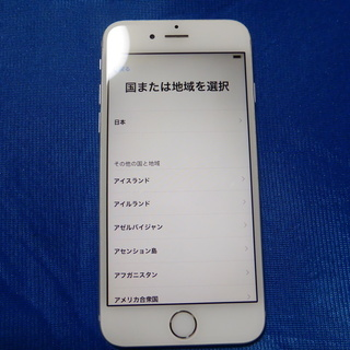 ■12,000円【 iPhone6 128GB シルバー/ 少し傷...