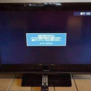 中古/2009年製 東芝REGZA液晶テレビ 32A8000
