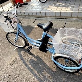 中古品 電動三輪自転車