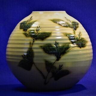 美濃焼花器壺 真山窯 花瓶